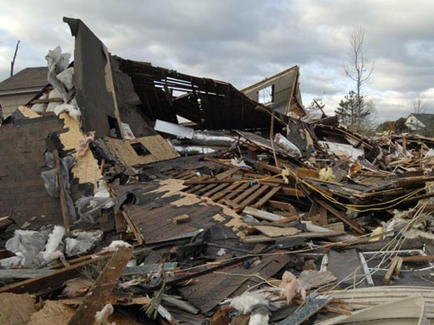 Tornadoes Ravage Arkansas