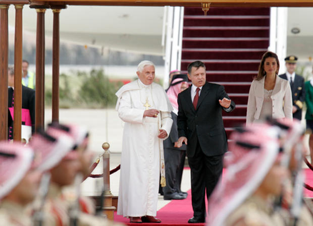 Pope Visits The Middle East