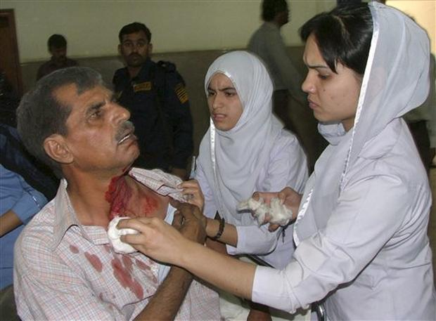 Pakistan Police Attack