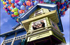 """In """"Up,"""" the new Pixar film, the filmmakers had to figure out how to animate the more than 10,000 interdependent balloons that hoist the main character's house aloft."""