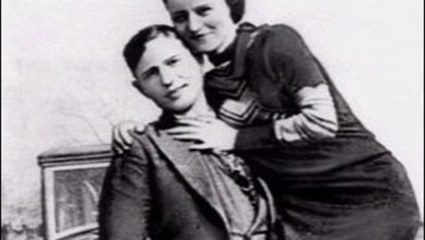 Clyde Barrow and Bonnie Parker, whose bloody crime spree in the Central United States during the early 1930s captured the public fascination.