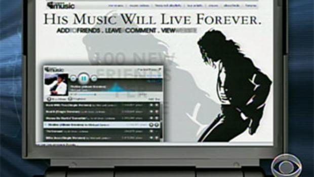 Myspace, Internet, Michael Jackson, fans, fanpage