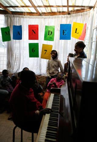 Birthday Celebrations for Mandela