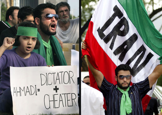 Rallies Against Crackdown in Iran