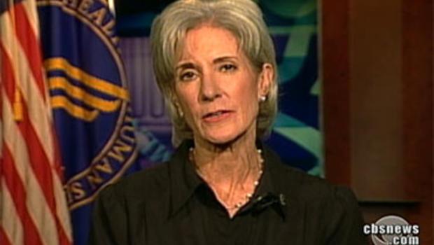 Secretary of Health and Human Services Kathleen Sebelius