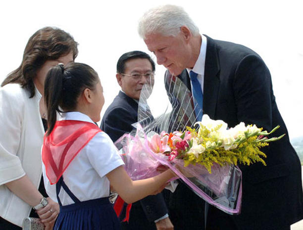 Bill Clinton Visits North Korea