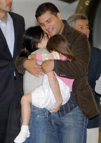 Freed Journalists Return Home