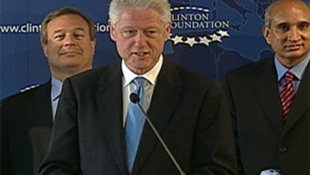 Bill Clinton speaks about North Korea mission Aug. 5, 2009