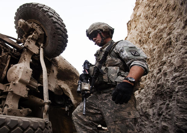 Stumping in Afghanistan