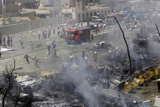 Explosions Rock Baghdad