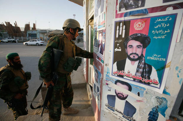 Afghanistan Election Anticipation