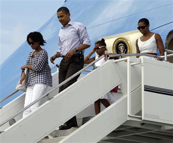 First Family on Vacation