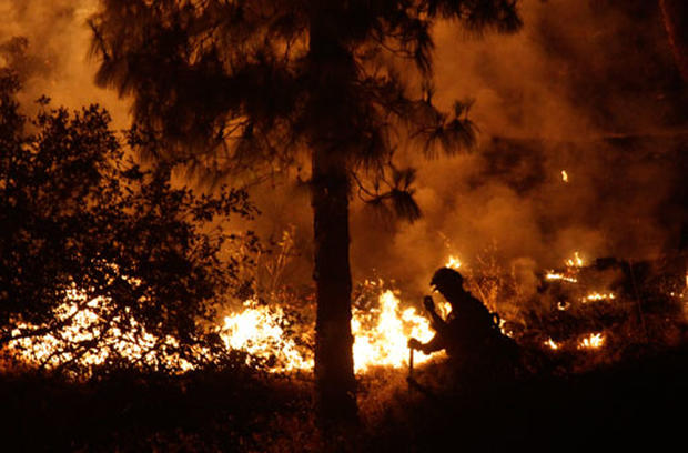 Wildfires Blaze in California