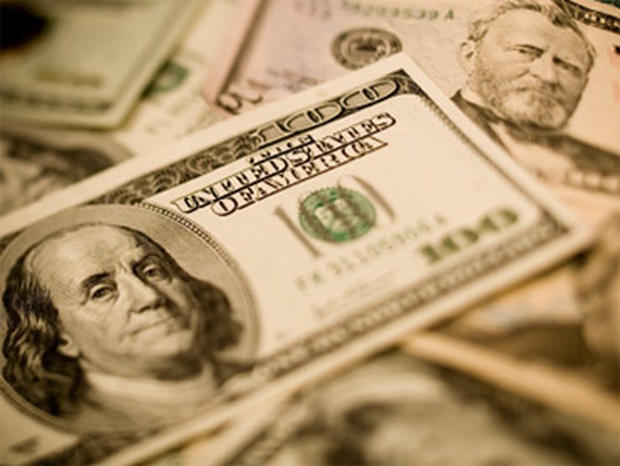 A close up of a Benjamin. Makes a perfect money background.
