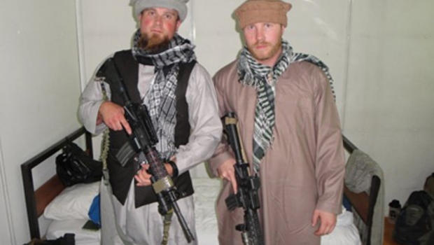 CAROUSEL - U.S. Embassy guards dressed as Afghans