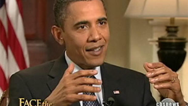"President Barack Obama, in an interview with ""Face the Nation"" host Bob Schieffer broadcast Sunday, September 20, 2009."