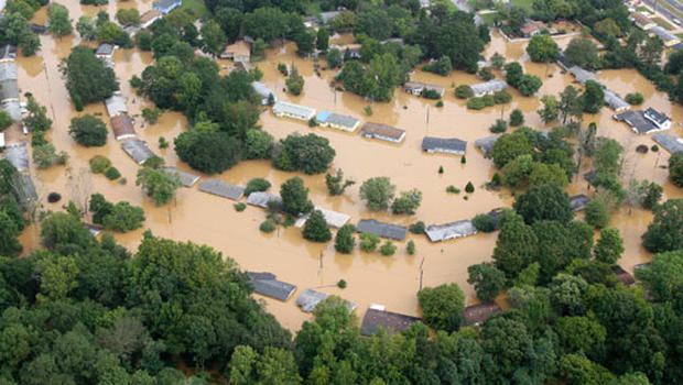 Severe Floods in the Southeast