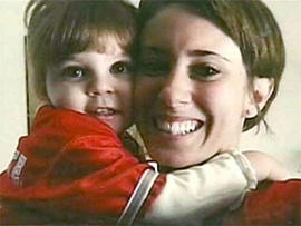 Undated family photo of Casey Anthony and Caylee Anthony.