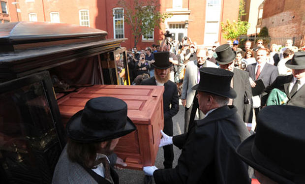 Poe Gets Fitting Funeral