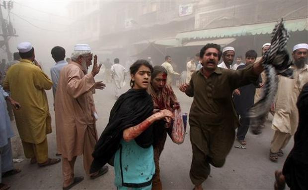 Pakistan Market Blast