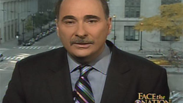 "White House Senior Adviser David Axelrod on ""Face the Nation."""