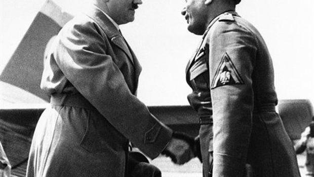 Adofl Hitler, Benito Mussolini
