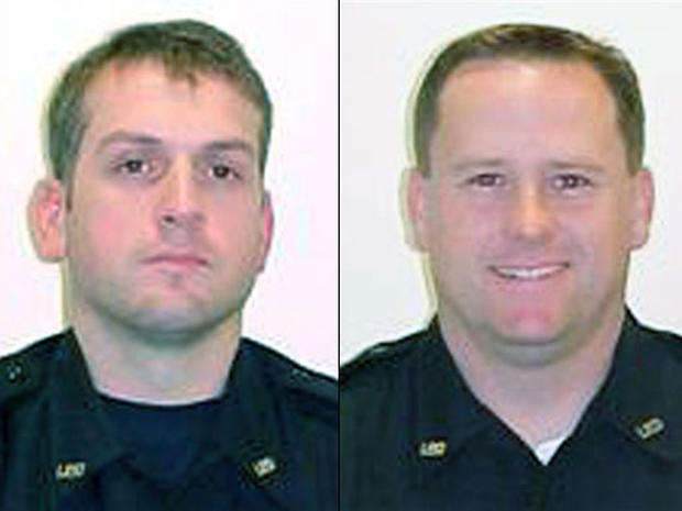 Police Officers Gunned Down