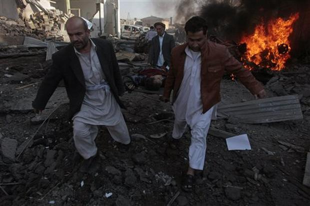 Suicide Car Bomb in Kabul