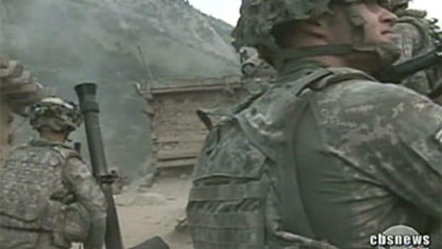 American outpost in Afghanistan