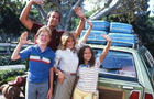 """Chevy Chase, Beverly D'Angelo, Anthony Michael Hall and Dana Barron in """"National Lampoon's Vacation."""""""