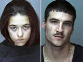 The father and former stepmother of missing north Florida girl Haleigh Cummings have been arrested in a drug sting. The Putnam County Sheriff's Office said 26-year-old Ronald Cummings and 18-year-old Misty Croslin were among several arrested Wednesday in
