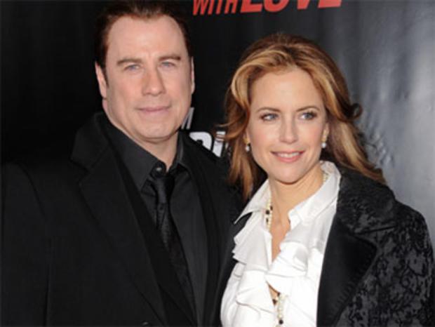 Actor John Travolta and wife actress Kelly Preston