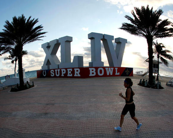 Super Bowl XLIV Preparations