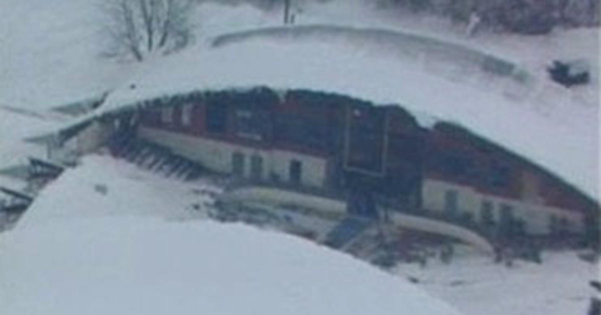 Roof Of Pa Ice Rink Collapses Cbs News