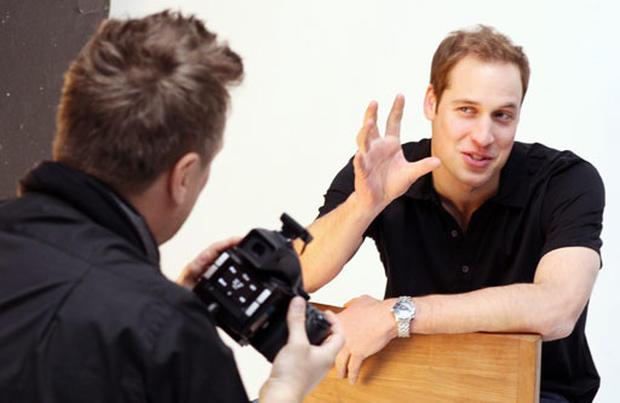 Prince William in Focus