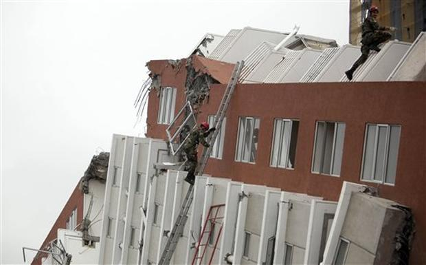 Chile Earthquake Aftermath