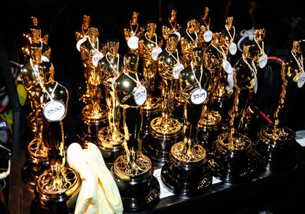 Backstage at the Oscars