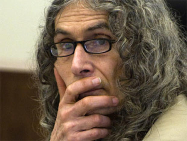 Serial murder suspect Rodney Alcala delivers his final arguments during his trial in Santa Ana, Calif. on Monday, Feb. 22, 2010. Representing himself, Alcala, 66, has pleaded not guilty to five counts of first-degree murder in the killings of a 12-year-old and four Los Angeles County women between 1977 and 1979. (AP Photo/Pool, Michael Goulding)