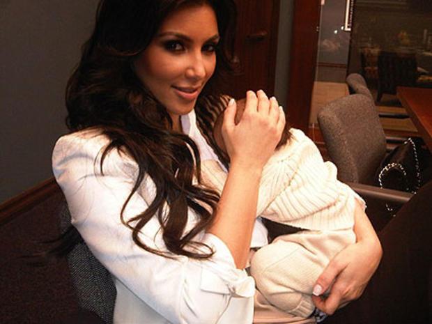 Kim Kardashian Breast Feeding Tweets: Is She Milking It? - CBS News