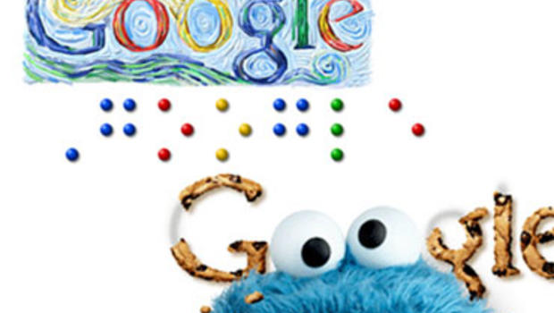 "Google Doodles, playful illustrations that mark holidays and anniversaries on the search engine's home page, have celebrated the birthdays of Vincent Van Gogh, Louis Braille, and ""Sesame Street."""