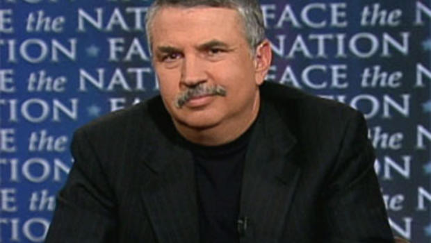 """New York Times columnist and author Thomas Friedman on """"Face the Nation,"""" Sunday, April 25, 2010."""
