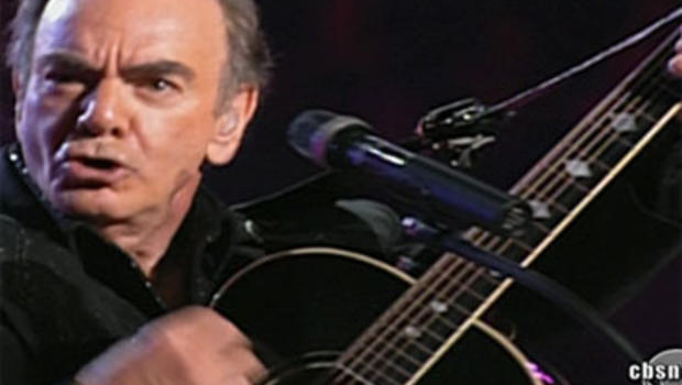 Neil Diamond stepped in to help people who lost their homes in Hurricane Ike.