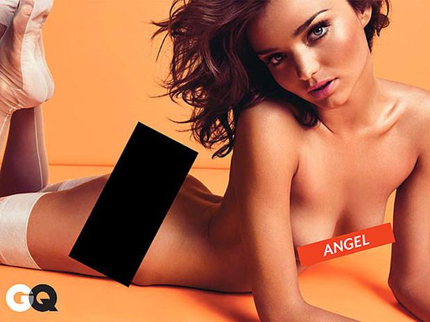 Miranda Kerr Does GQ, Forgets Clothes