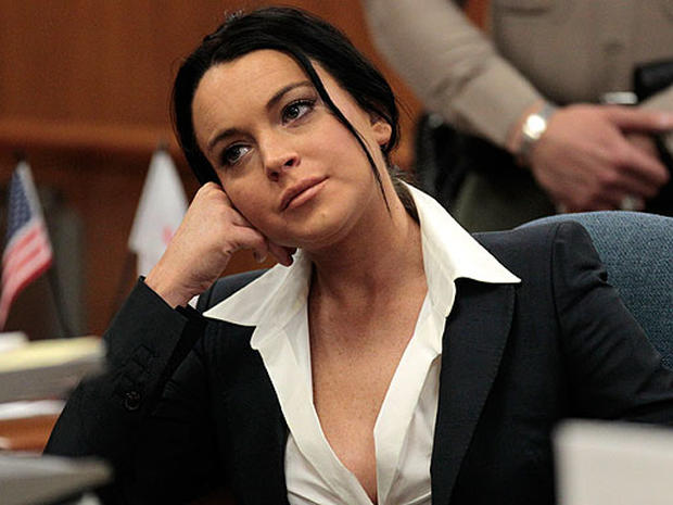 Lindsay Lohan In Court
