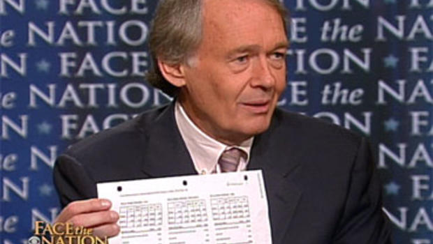 """Rep. Ed Markey, D-Mass., on """"Face the Nation"""" Sunday, May 30, 2010."""