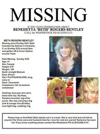 Beth Bentley Missing