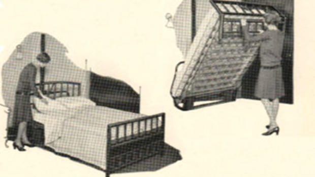 Ads for Murphy beds