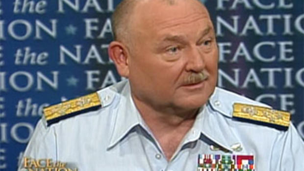 """Admiral Thad Allen, U.S. Coast Guard, National Incident Commander on the Gulf of Mexico oil spill, on """"Face the Nation,"""" Sunday, June 6, 2010."""