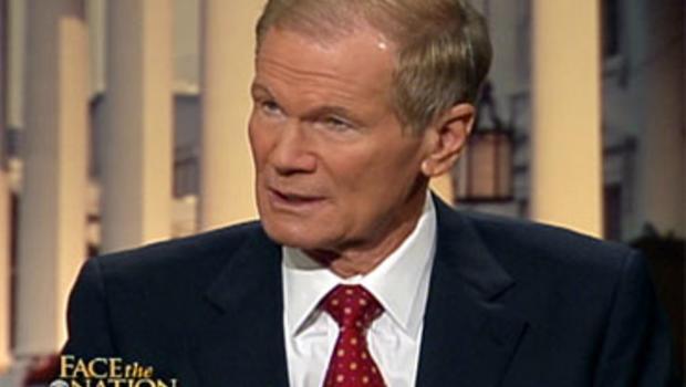 """Sen. Bill Nelson, D-Fla., on """"Face the Nation,"""" Sunday, June 6, 2010."""