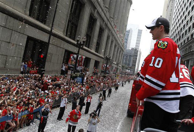 Blackhawks Parade